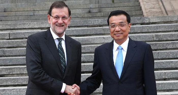 西班牙与中国签署14个商业协议